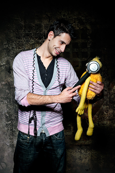 Miguel Garcia and Flat Eric