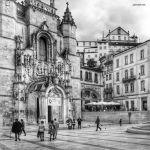 Baixa de Coimbra - Praça 8 de Maio - Igreja Santa Cruz