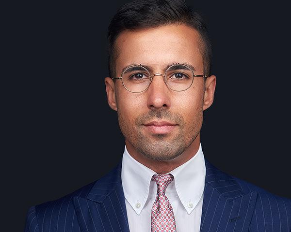 fotografia de Retrato profissional para o linkedin de um homem